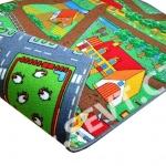 Dětský koberec město