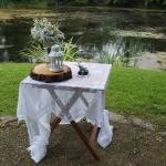 Obřadní stolek čtvercový