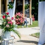 Svatba Hluboká nad Vltavou  - Svatba na klíč  - Svatba bez starostí - Svatební koordinátorka - Stojany na květinové vazby k bráně