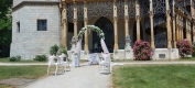 Svatba Hluboká nad Vltavou  - Svatba na klíč  - Svatba bez starostí - Svatební koordinátorka - Venkovní obřad